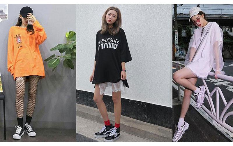 Mix Đồ Với Giày Sneakers Cho Nữ