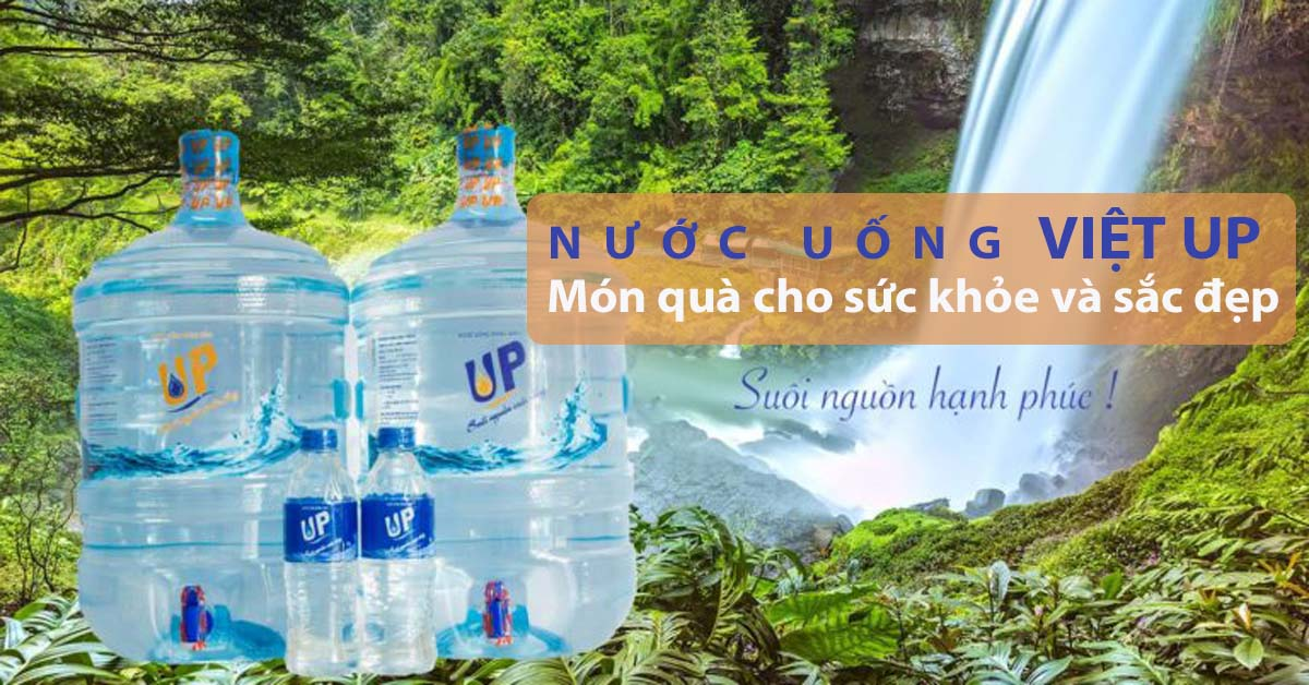 nuoc uong viet up