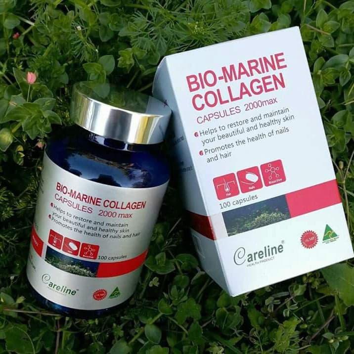 Viên uống collagen Bio - Marine Collagen Careline