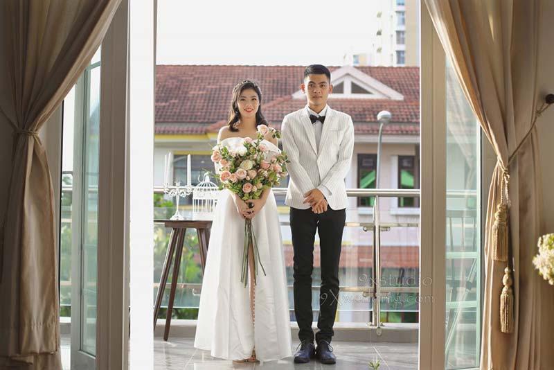 Chụp ảnh cưới giá rẻ tại 9x studio wedding tphcm