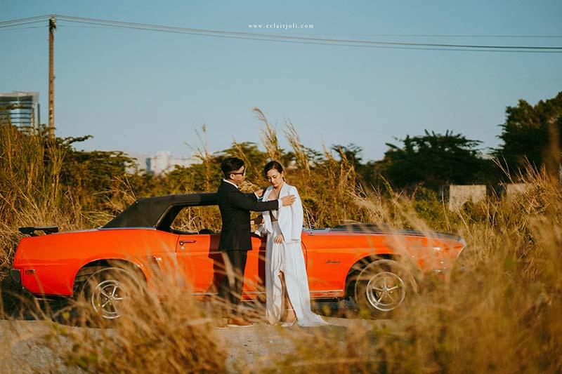 Chụp ảnh cưới tại Eclair Joli studio tphcm