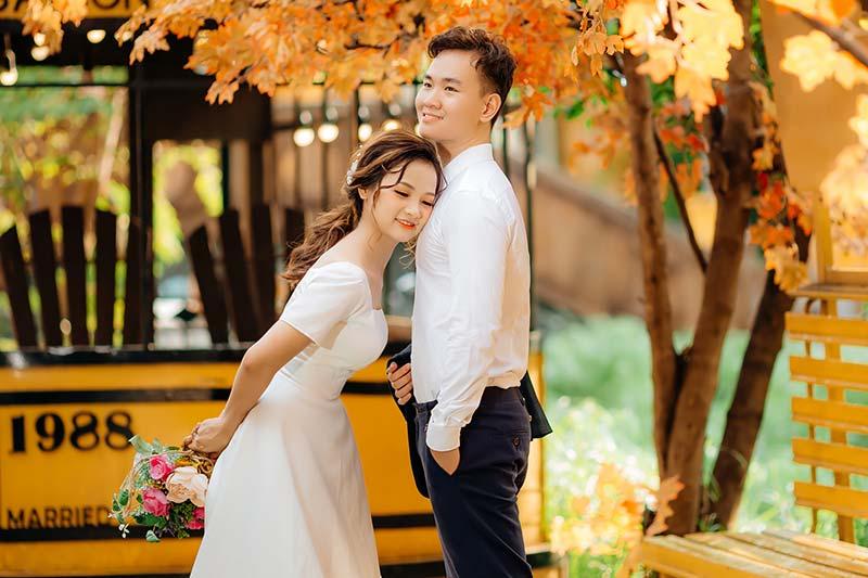 Chụp hình cưới chất lượng tại Ahihi studio