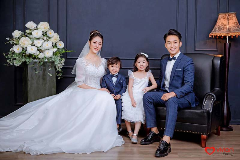 Ảnh cưới được chụp tại ảnh viện Vivian