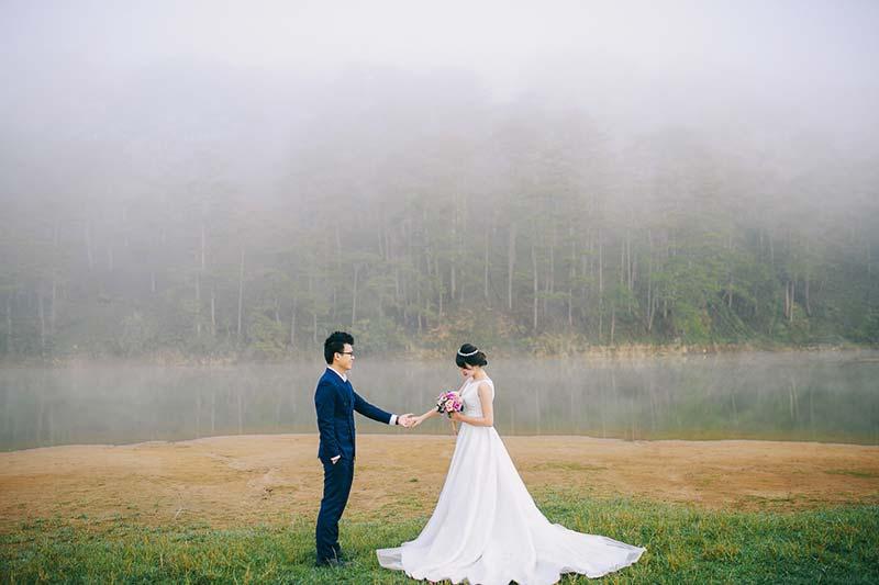 Chụp ảnh cưới giá rẻ tại Green wedding studio