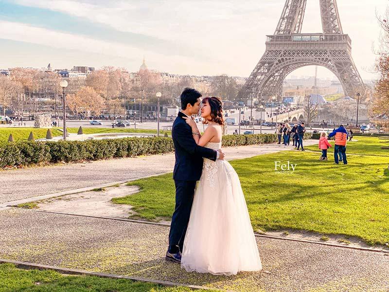 Chụp ảnh cưới rẻ đẹp tại Fely studio Hà Nội