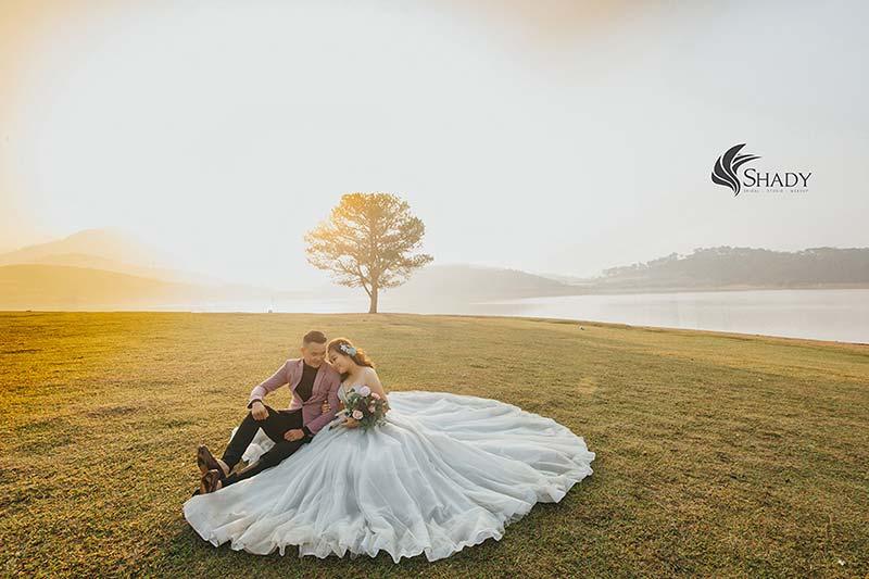 Chụp ảnh cưới tphcm tại Shady studio