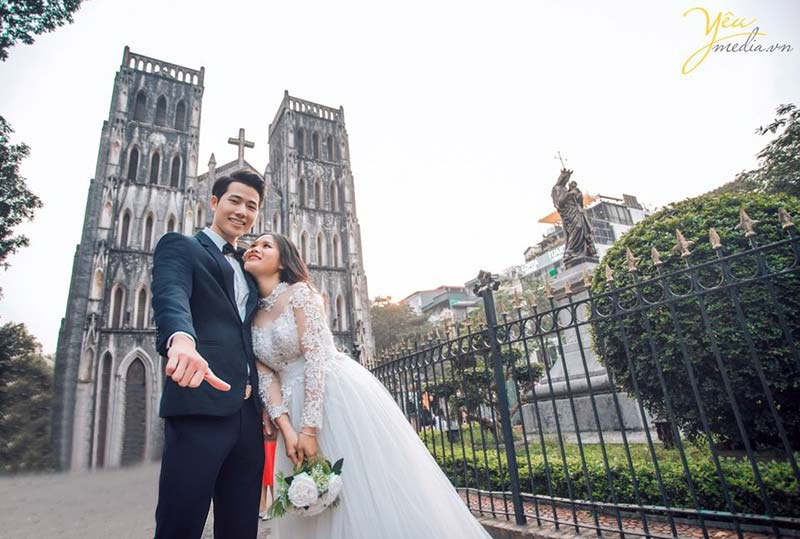 Yêu media đơn vị chụp ảnh cưới uy tín Hà Nội