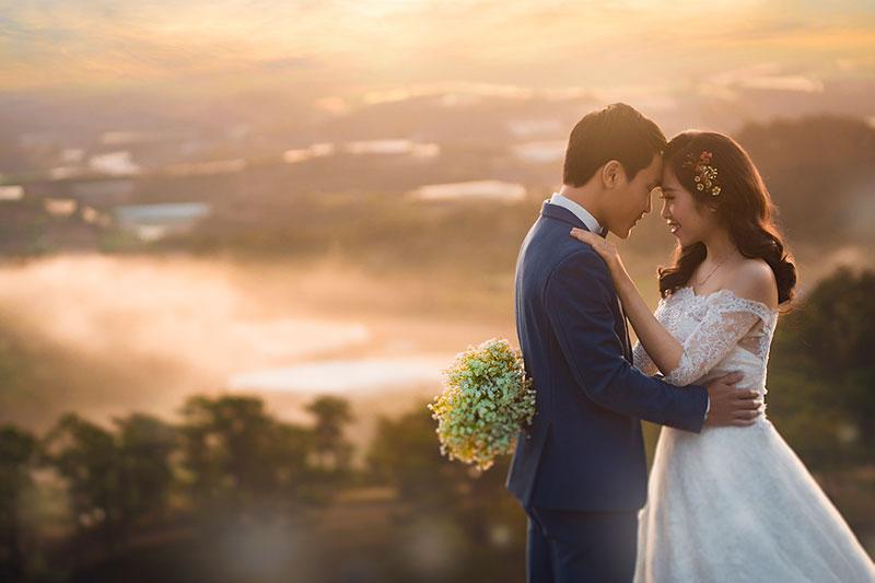 Ảnh cưới rẻ đẹp tại Thoong studio Nghệ An