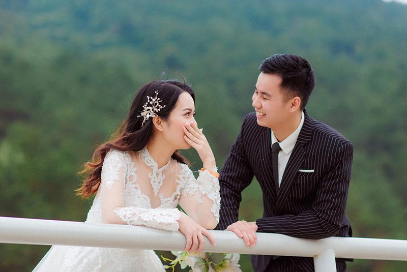 Chụp ảnh cưới Đà Lạt tại ảnh viện áo cưới Vivian