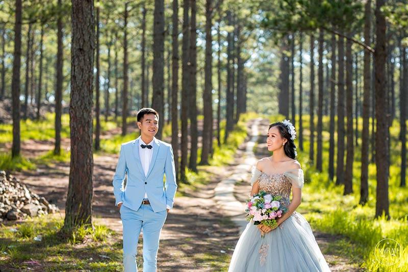 Chụp ảnh cưới rẻ đẹp tại Carrot Nguyễn photography Đà Lạt
