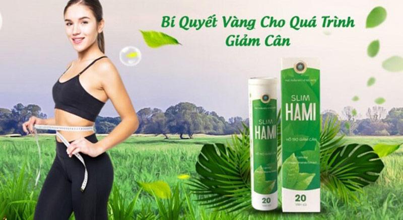 Công dụng của viên sủi giảm cân Slim Hami
