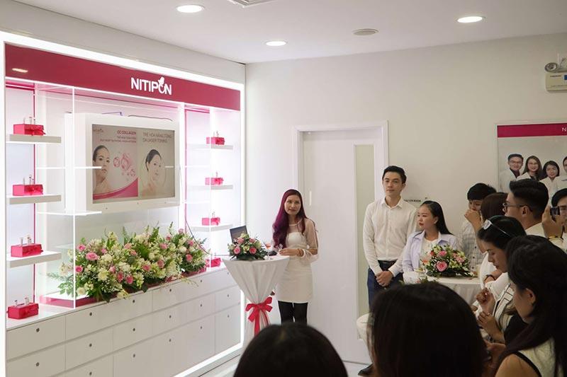 Điều trị mụn hiệu quả tại Nitipon Clinic Việt Nam