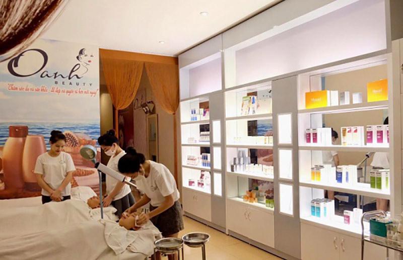 Hình ảnh điều trị mụn ở Oanh Beauty spa quận 1