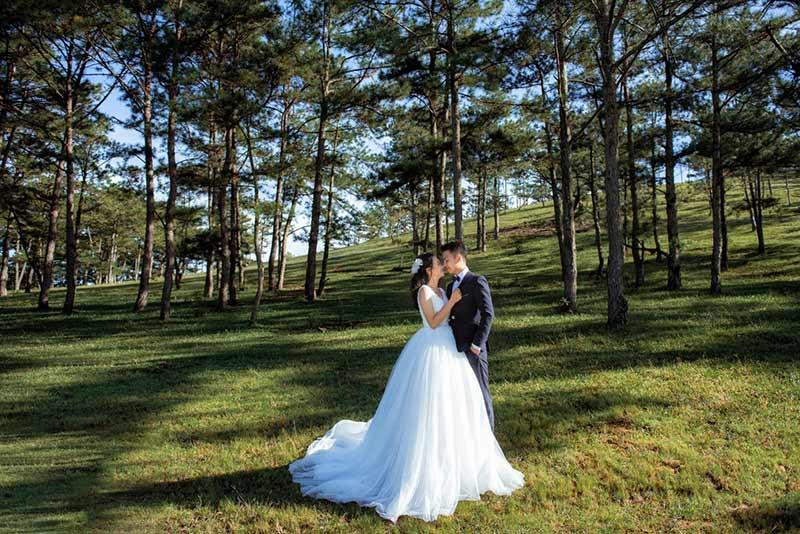 Khói studio chụp ảnh cưới nghệ thuật ở Vinh