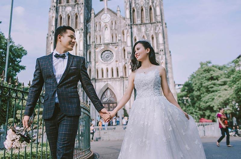 Nga Đinh bridal studio chụp ảnh cưới khu vực quận 2