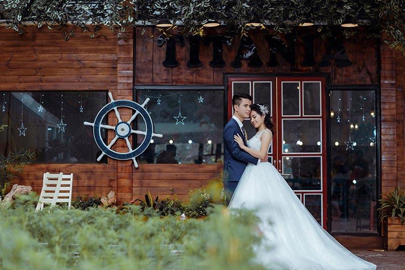 Phong cách chụp ảnh cưới độc lạ tại phim trường The Bo studio