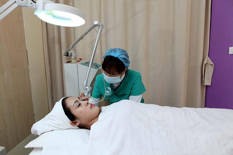 Thu Cúc Clinics điều trị mụn hiệu quả ở Nghệ An