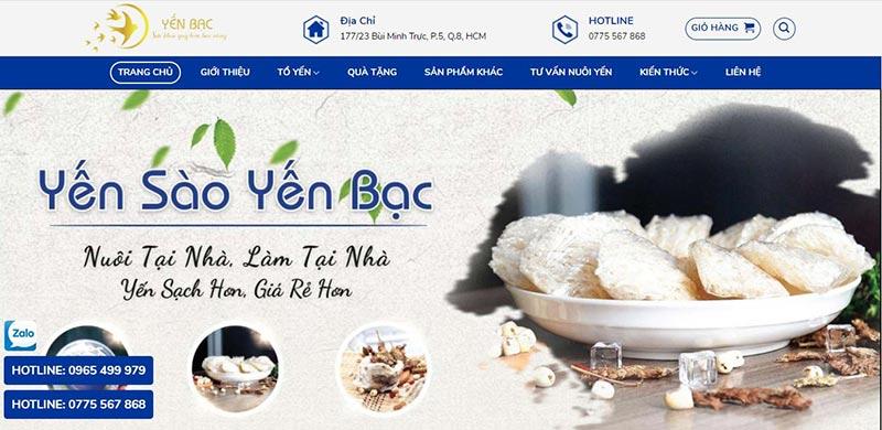 Yến Bạc thương hiệu yến được ưa chuộng tại Việt Nam