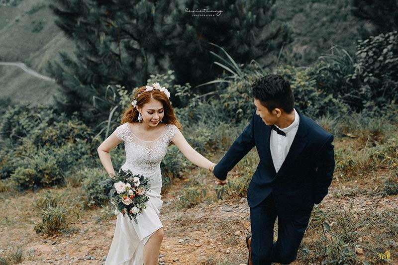Ảnh cưới nghệ thuật độc đáo tại Nguyễn Phương Photography