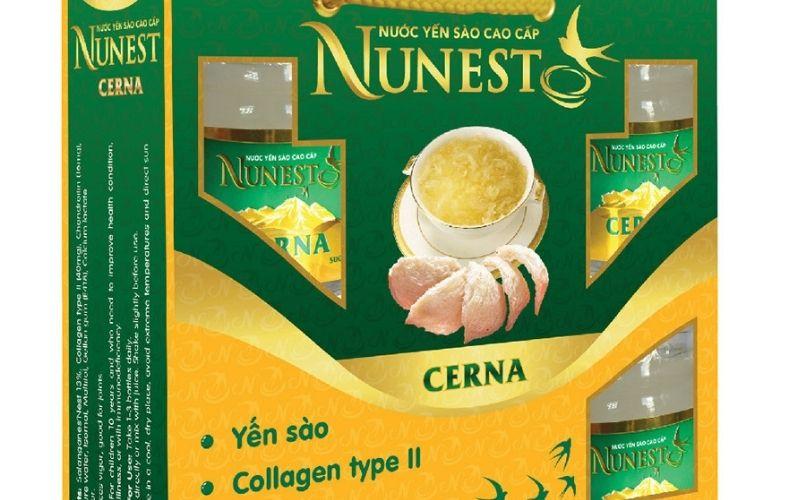 Yến sào chưng sẵn Nunest