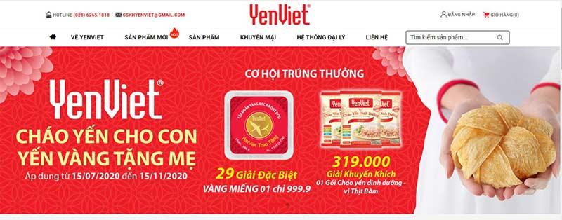 Yến Việt - thương hiệu yến hàng đầu tại Việt Nam