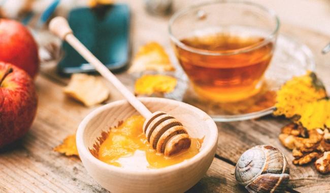 Kết hợp giữa giấm táo và mật ong