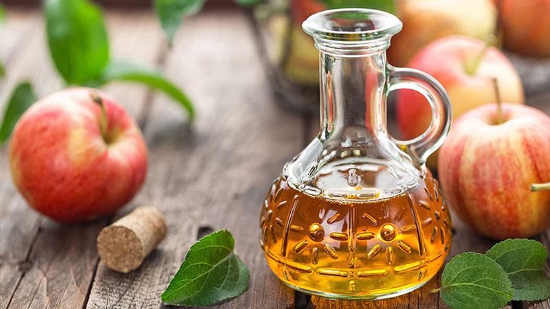 Điều trị nám da tại nhà bằng giấm táo