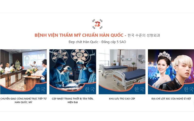 Bệnh viện thẩm mỹ KangNam sở hữu chất lượng dịch vụ vượt trội