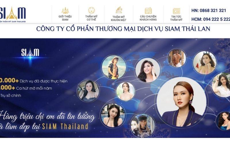 Viện thẩm mỹ Siam Thái Lan đã phẫu thuật thành công rất nhiều ca hút mỡ bụng