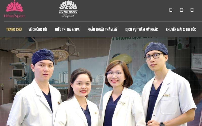 Thẩm mỹ Hồng Ngọc hội tụ rất nhiều bác sĩ giỏi và tâm huyết với nghề