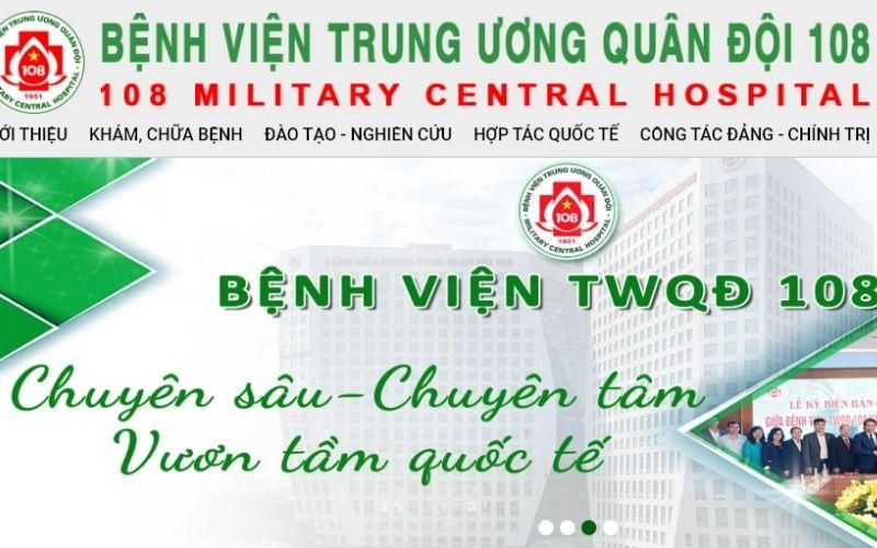 Bệnh viện trung ương quân đội 108 là địa chỉ không thể tin cậy hơn nếu chị em muốn làm đẹp ngay tại Hà Nội