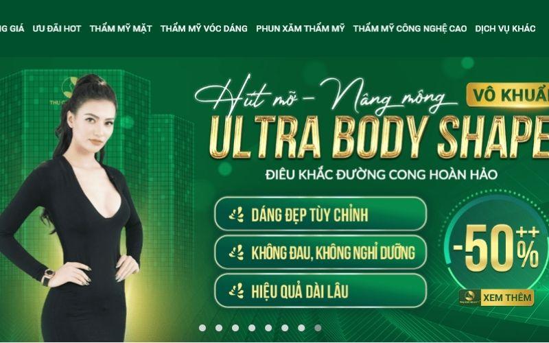 Thu Cúc là cái tên lớn và nổi tiếng trong ngành làm đẹp tại Việt Nam