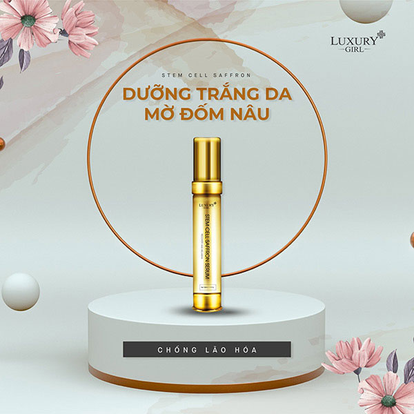 Serum trị nám Stem Cell Saffron