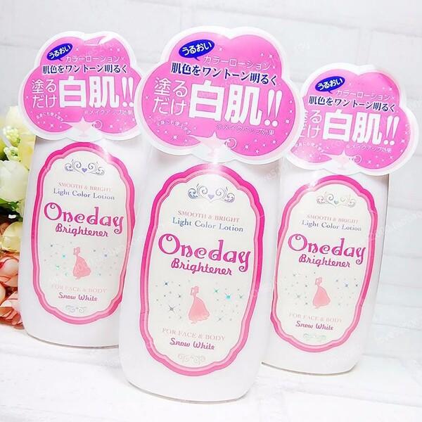 Sữa Dưỡng Trắng Da Mặt Và Body Oneday