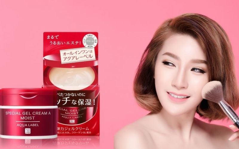 Kem tái tạo da - Shiseido Aqualabel Cream 5 in 1