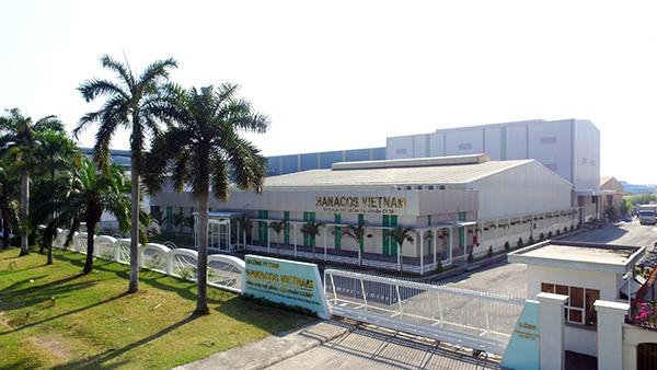 Nhà máy gia công mỹ phẩm Hanacos Việt Nam