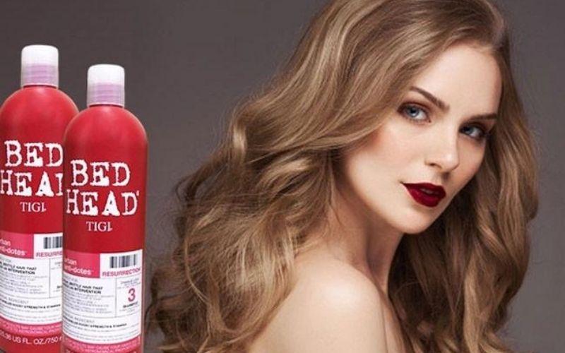 Loại dầu gội trị rụng tóc Tigi Bedhead màu đỏ