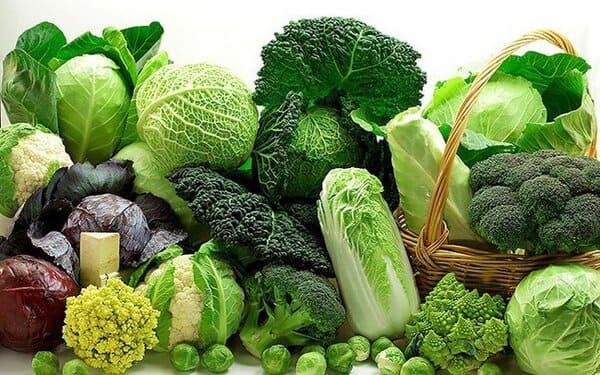 Ăn rau xanh rất tốt khi mang thai