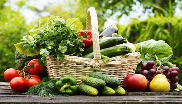 Trái cây, rau củ tươi
