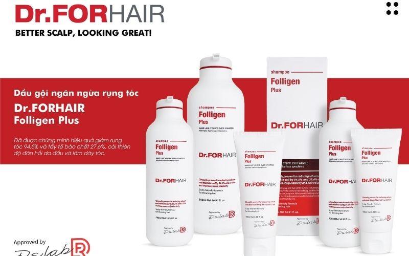 Dầu gội dr.forhair có tốt không 4