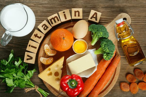 Rụng tóc cần bổ sung vitamin gì - Vitamin A