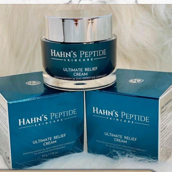 Kem Dưỡng Và tái tạo da Hahn's Peptide Ultimate Relief Cream