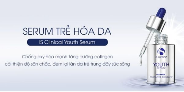 Serum Hỗ Trợ Giảm Nếp Nhăn Phục Hồi Da iS Clinical Youth Serum 30ml