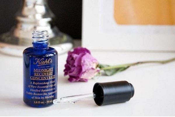 Serum phục hồi và tái tạo da Kiehl's Midnight Recovery Concentrate