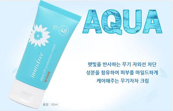Aqua UV Protection Cream Mineral SPF48PA+++