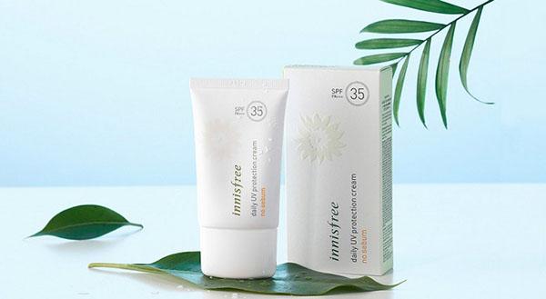 Daily UV Protection Cream No Sebum SPF35/PA+++